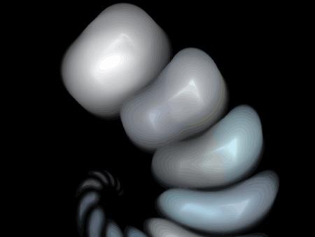 Vector Illustration of digital fractal Stock Vector - 11190143
