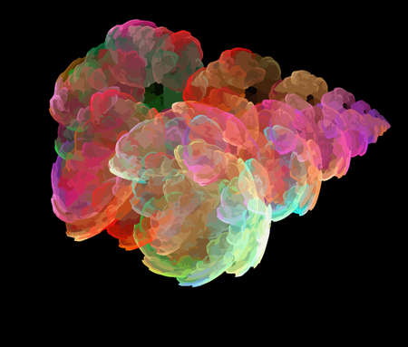 Vector Illustration of digital fractal Stock Vector - 11579035
