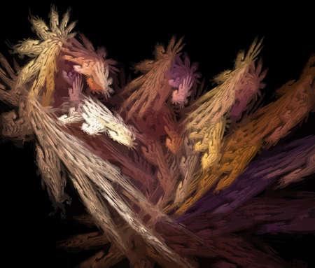 Vector Illustration of digital fractal Stock Vector - 11579047