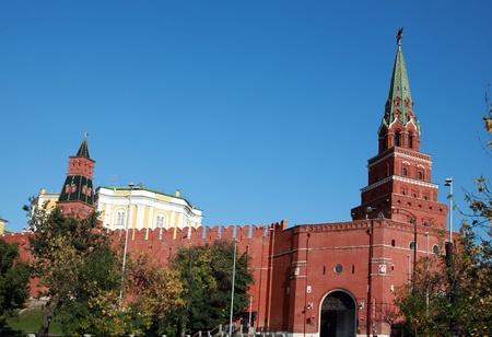 Kremlin tower on sky background in city center Stock Photo - 12104035