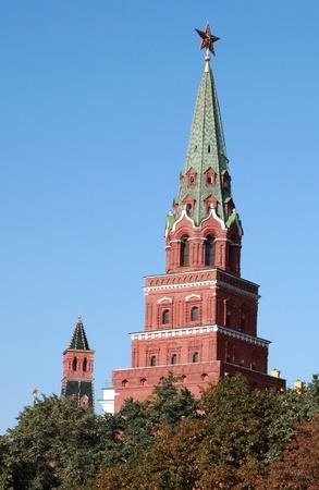 Kremlin tower on sky background in city center Stock Photo - 12424336