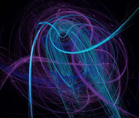 Vector Illustration of digital fractal Stock Vector - 12576098