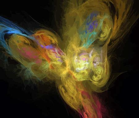 Vector Illustration of digital fractal Stock Vector - 12789080