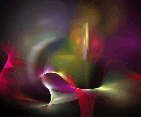 Vector Illustration of digital fractal Stock Vector - 12952119