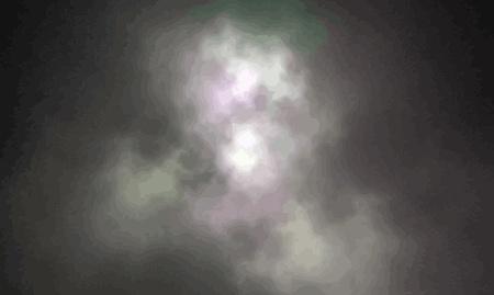 smoke: Vector Illustratie van de digitale fractal