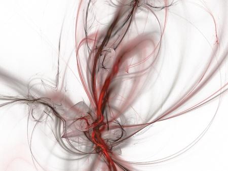 digital fractal on white background Stock Photo - 13001577