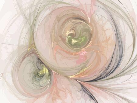 Vector Illustration of digital fractal Stock Vector - 13267493