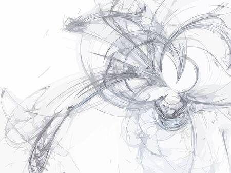 Vector Illustration of digital fractal Stock Vector - 13267507