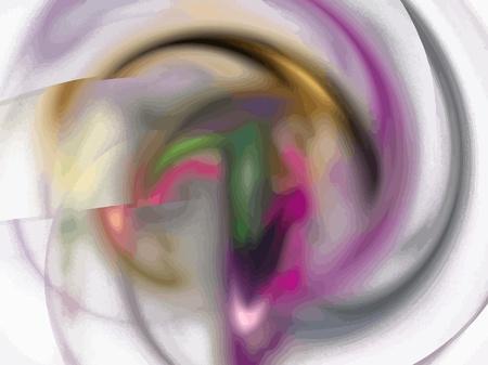 Vector Illustration of digital fractal Stock Vector - 13493882
