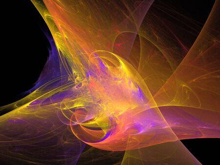 fractal pink: digital fractal