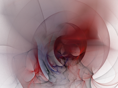 digital fractal on white background Stock Photo - 13725199