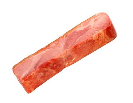 piece of pork bacon photo