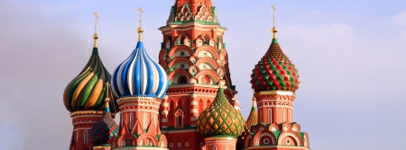 blessed Basil cathedral in moscow photo