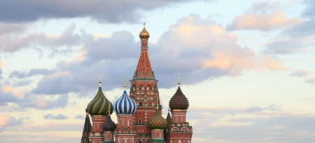 blessed Basil cathedral at evening Stock Photo - 14105983