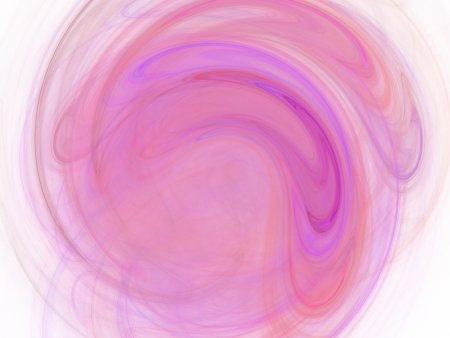 digital fractal on white photo