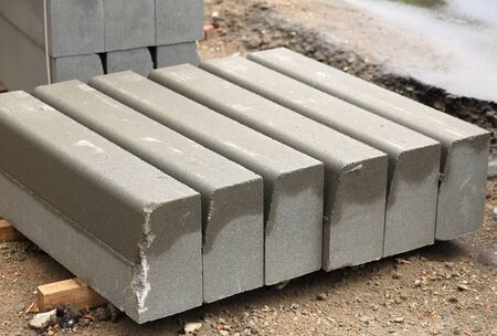 edge stone pack coupled at day Stock Photo - 14540134