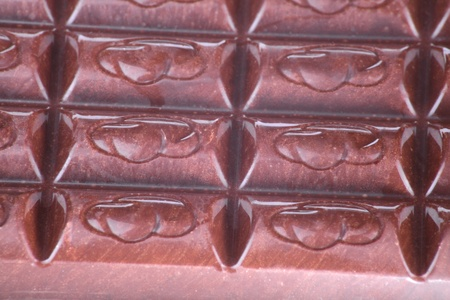 bar of  brown chocolate as food background photo