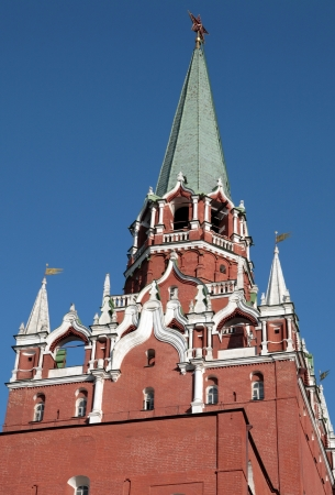 Kremlin tower on sky background in city center Stock Photo - 14540100