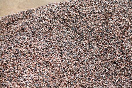 heap of gravel at dayli time Stock Photo - 14540165