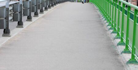 bridge over railway at day photo