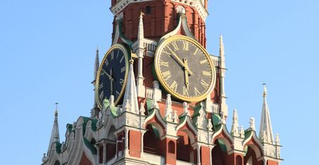 Kremlin tower on sky background in city center Stock Photo - 14635440