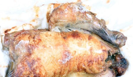 griglia chiken in lavash photo