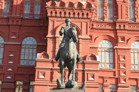 historic museum and statue photo
