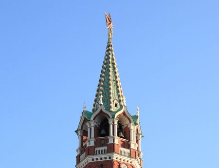 Kremlin tower sur fond de ciel en centre-ville photo