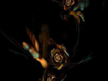 fine gold: digital fractal