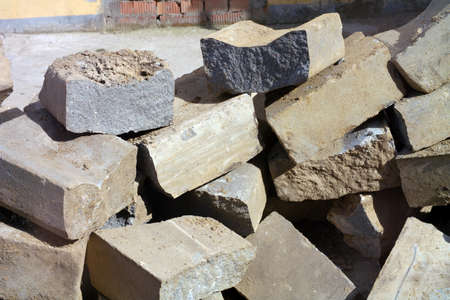 heap of stone photo