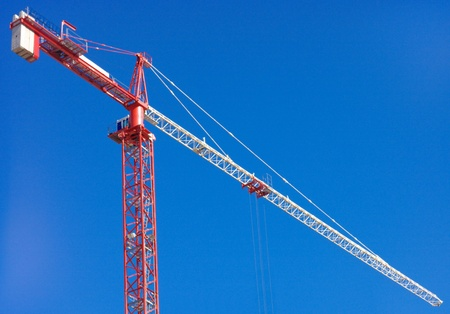 crane tower on sky background  Stock Photo - 16760077