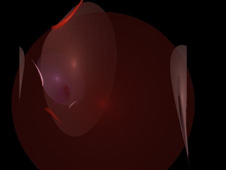 background brown: digital fractal