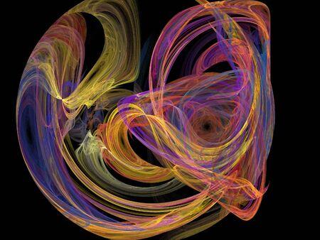 digital fractal Stock Photo - 17485529