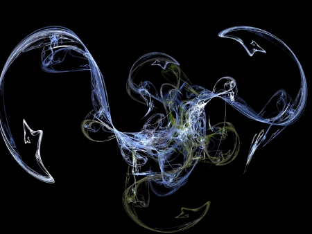 digital fractal Stock Photo - 17485298