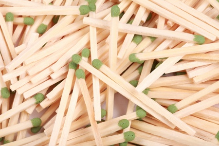 many scattering of matches Stock Photo - 17672071