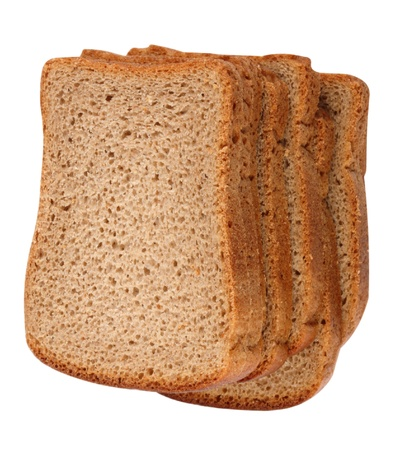 Dark Bread Isolated photo