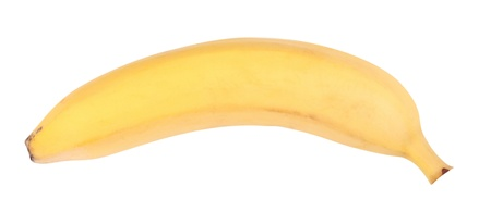Yellow Banana Isolated photo
