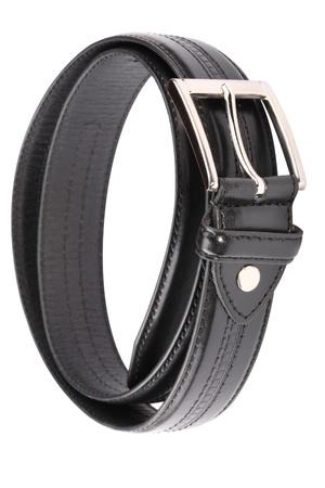 Leather Belt Strap Isolated Stock Photo - 18637892