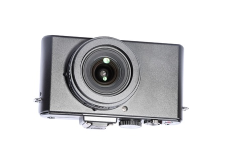 Compact Camera Isolated Stock Photo - 19484493