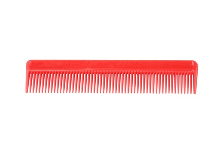 Red Comb Isolated photo