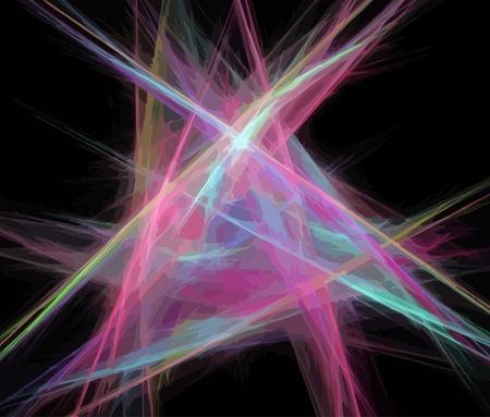 Vector Illustration of digital fractal Stock Vector - 20498885