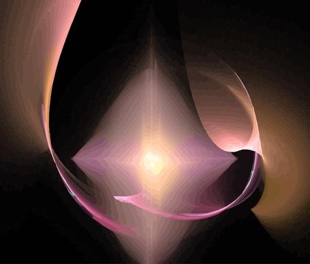 Vector Illustration of digital fractal Stock Vector - 20498904