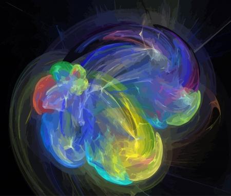Illustration of digital fractal Stock Vector - 20518389