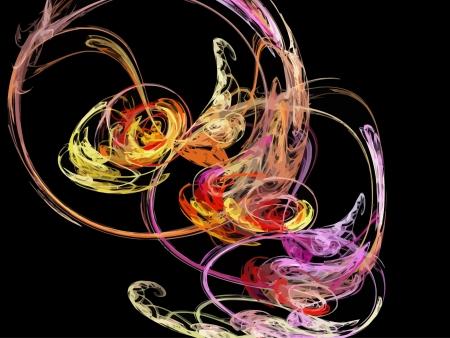 Illustration of digital fractal Stock Vector - 20729269