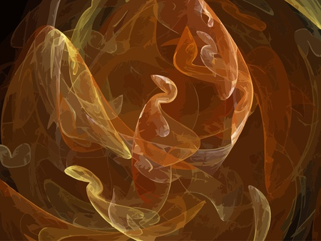 Illustration of digital fractal Stock Vector - 20798330