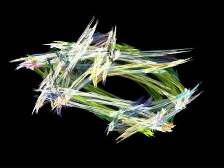 Vector Illustration of digital fractal Stock Vector - 20879914