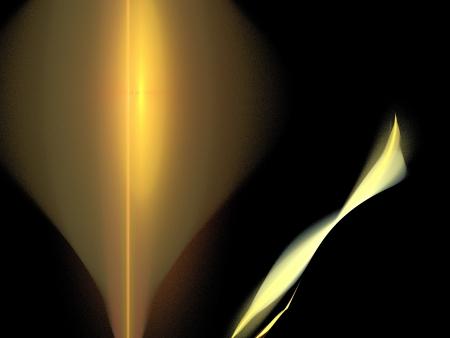 fractality: Digital Fractal on Black