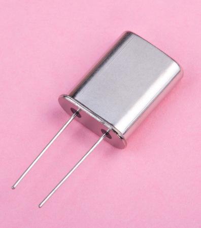 radio unit: Quartz on Pink Background