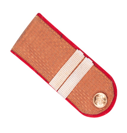 corporal: Shoulder Epaulet Isolated