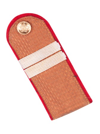 Shoulder Epaulet Isolated photo